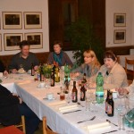 Pracovní večeře projektového týmu