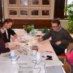 Pracovní setkání na zámku ve Štěkni